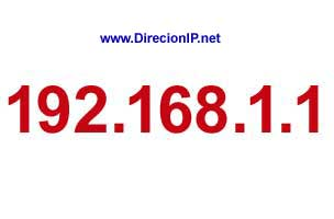 Dirección IP estandard